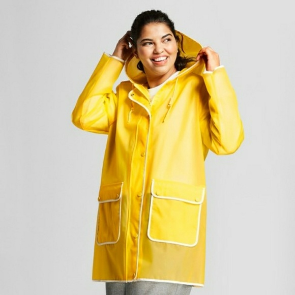 364338d136e3d Hunter for Target Yellow Raincoat NWT